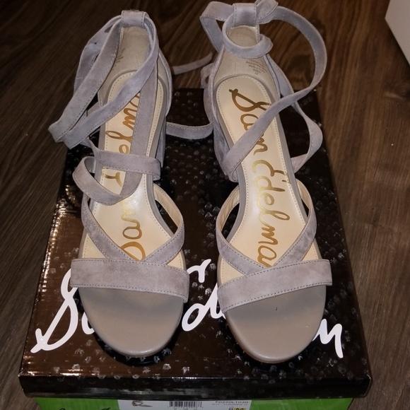 edbfa4828fb5aa Sam Edelman Sheri Lace Up Sandal Size 8
